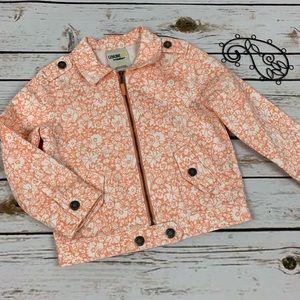 Genuine Kids Osh Kosh Girls Jacket Size 3t Floral